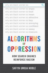 Cover of book Algorithms of Oppression